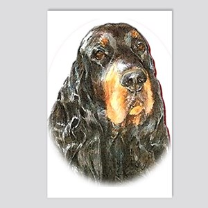 Gordon Setter Postcards (Package of 8)