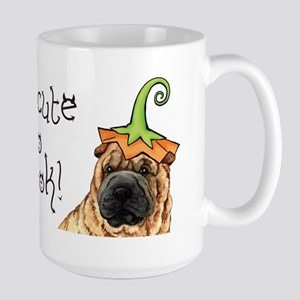 Halloween Shar-Pei Large Mug
