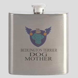Bedlington Terrier Dog Mother Flask