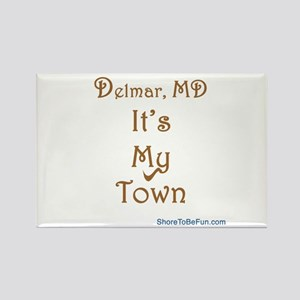 Delmar MD It's My Town Rectangle Magnet