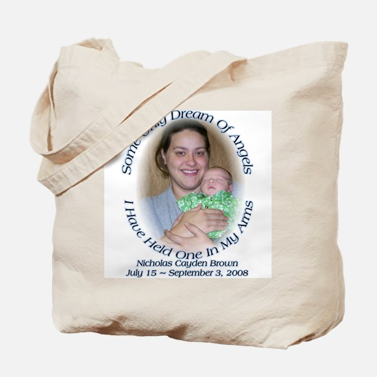 Nicholas (mom) Tote Bag
