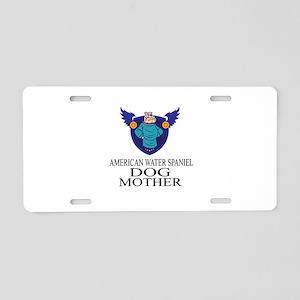 American Water Spaniel Dog Aluminum License Plate