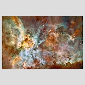 Carina Nebula Starbirth Large Poster