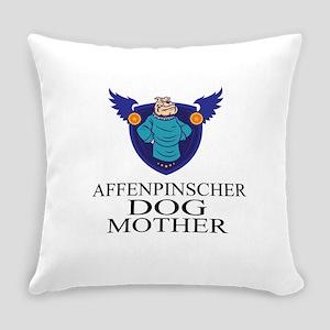Affenpinscher Dog Mother Everyday Pillow