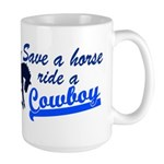 Cowboy Large Mug