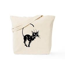 Cute Cat Meow Tote Bag