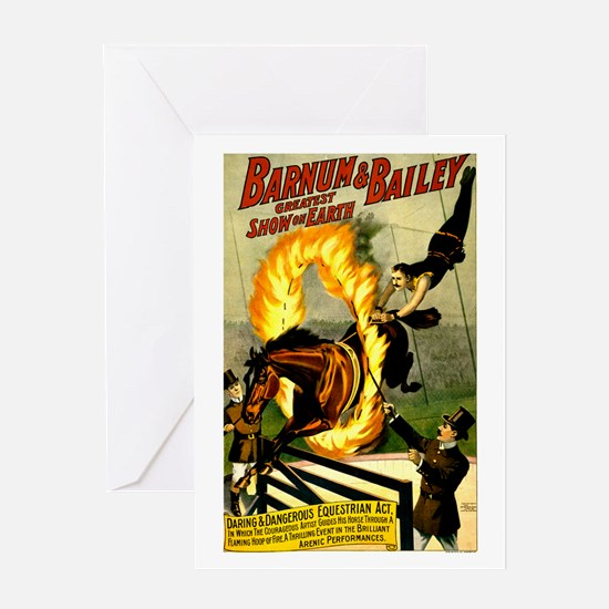 Barnum & Bailey (B) Greeting Card