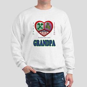 Irish Italian Grandpa Sweatshirt