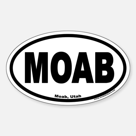 MOAB Euro Oval Decal