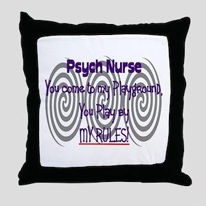 Psych Nurse Throw Pillow