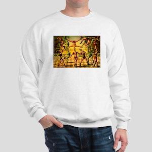 Circus Acrobats Sweatshirt
