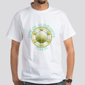 Lower Elements Police White T-Shirt