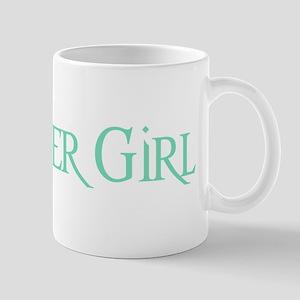 Green Morpheus Flower Girl Mug