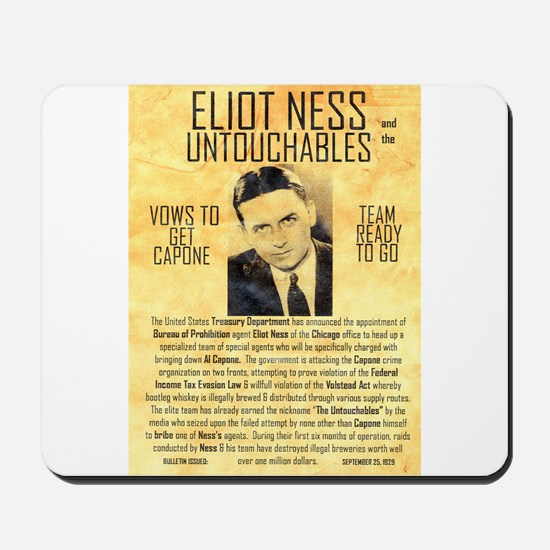 Eliot Ness Mousepad