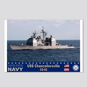 USS Chancellorsville CG-62 Postcards (Package of 8