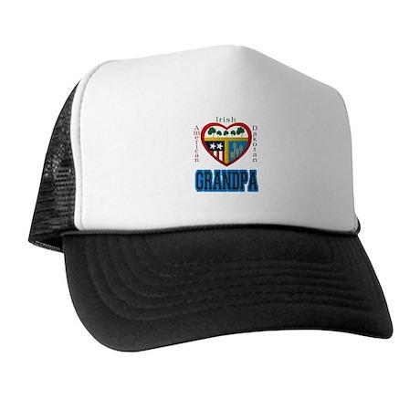 Irish Dakotan Grandpa Trucker Hat