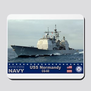 USS Normandy CG-60 Mousepad