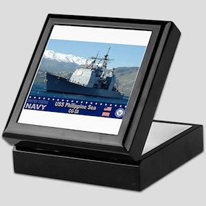 USS Philippine Sea CG-58 Keepsake Box