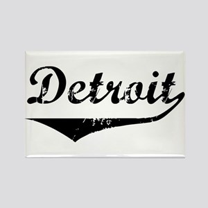 Detroit Rectangle Magnet