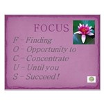 Finding My Focus Small Poster