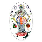 Pacha Mama Oval Sticker