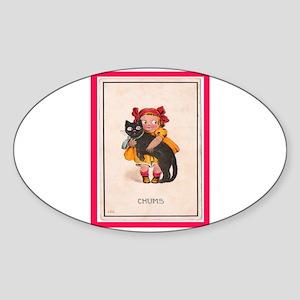 CHUMS Oval Sticker