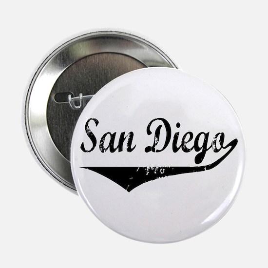 """San Diego 2.25"""" Button"""