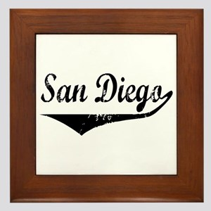 San Diego Framed Tile
