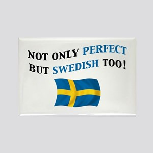 Perfect Swedish 2 Rectangle Magnet