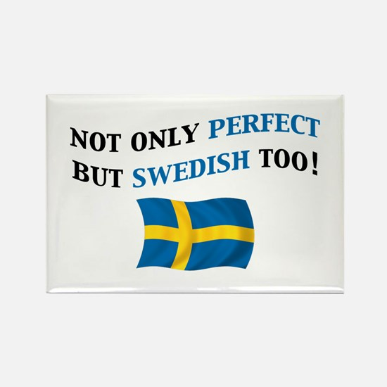 Perfect Swedish 2 Rectangle Magnet