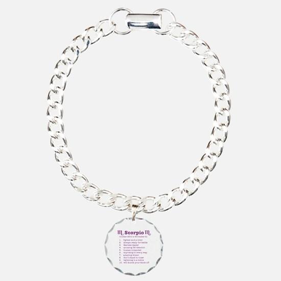 Funny Scorpio Bracelet