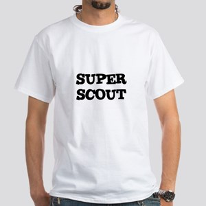 SUPER SCOUT White T-Shirt