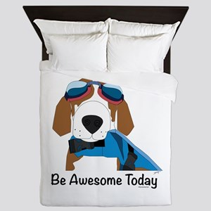 Be Awesome Today Queen Duvet