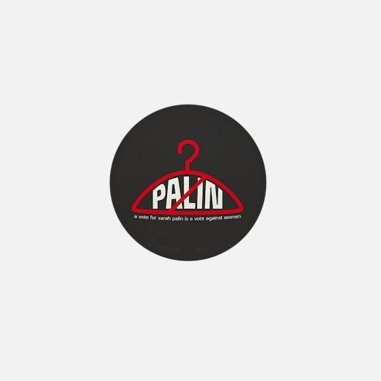 Scary No Palin Mini Button