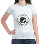 Save Pangolins.Org Black Logo T-Shirt