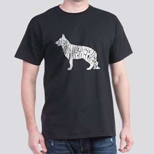 German shepherd silhouette with words T-Shirt