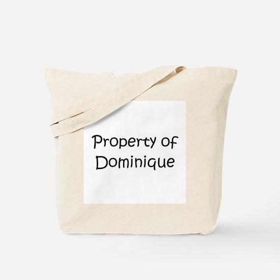 Funny Dominique Tote Bag