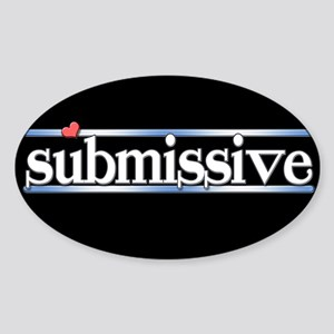 submissive Sticker (Oval)