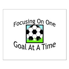 One Goal At A Time Posters