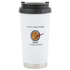 TwilightMOMS Cereal Stainless Steel Travel Mug
