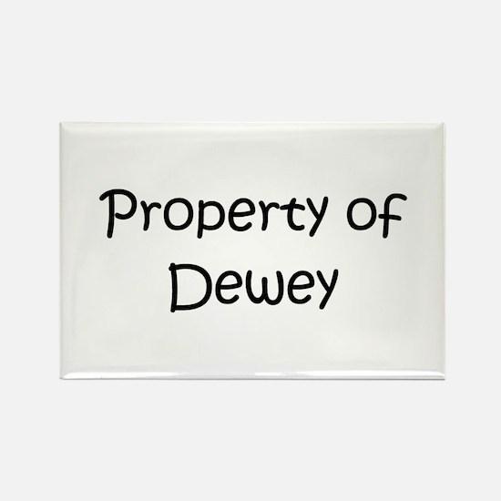 Cute Dewey Rectangle Magnet