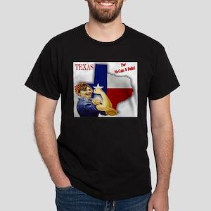 Texas for McCain & Palin! Dark T-Shirt