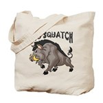 Pig Squatch Tote Bag