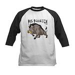 Pig Squatch Kids Baseball Jersey