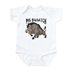Pig Squatch Infant Bodysuit