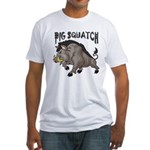 Pig Squatch Fitted T-Shirt