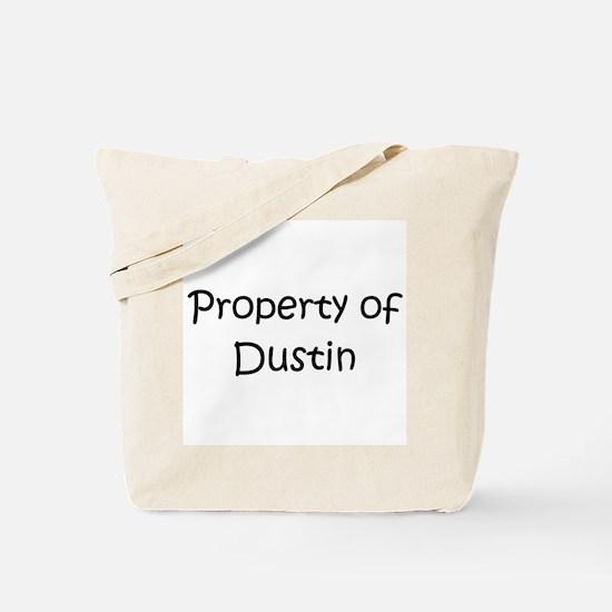 Cute Property of dustin Tote Bag