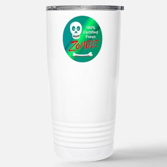 Funny Certified Fresh Z Stainless Steel Travel Mug