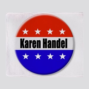 Karen Handel Throw Blanket
