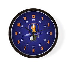 1st Aviation Brigade 24 hour Wall Clock